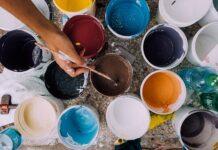 Mieszanie kolorów na obrazie